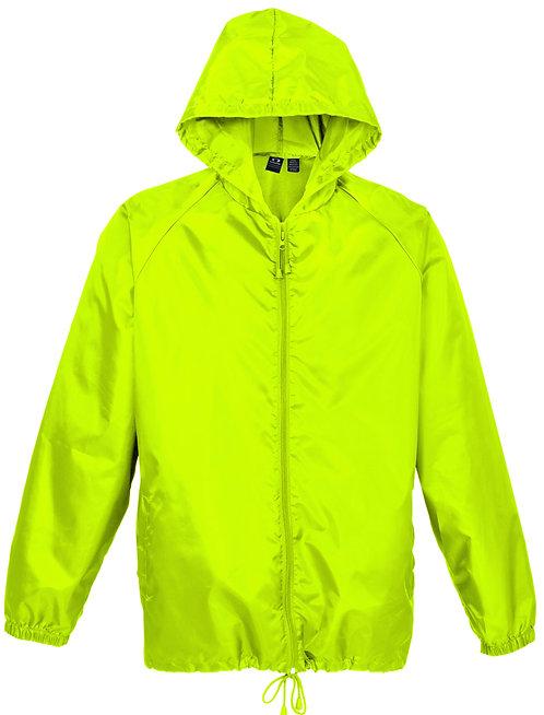 Unisex Base Jacket Fluro Lime