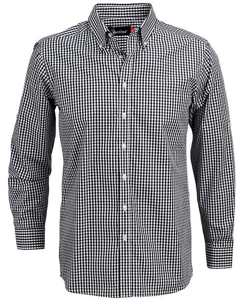Mens Miller Long Sleeve Shirt - Navy