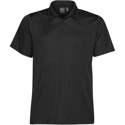 Mens Performance Polo Shirt - Black