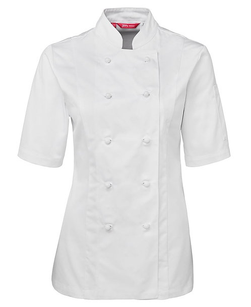 Ladies SS Chef's Jacket -White