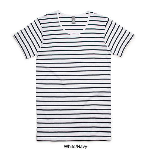 AS Colour Men's Wire Stripe Tee - Available from