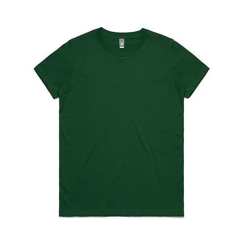 AS Colour Womens Maple Tee -Forest Green