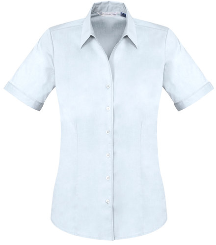 Womens Monaco SS Shirt - White