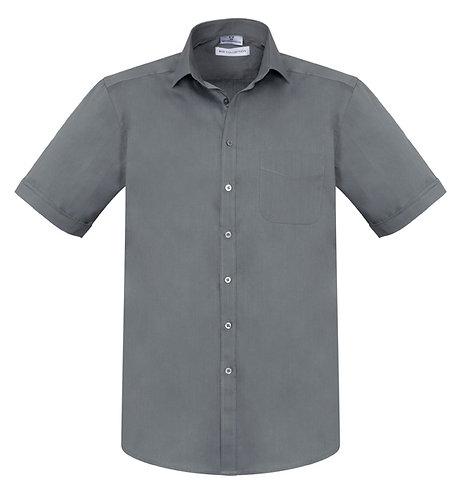 Mens Monaco SS Shirt - Charcoal