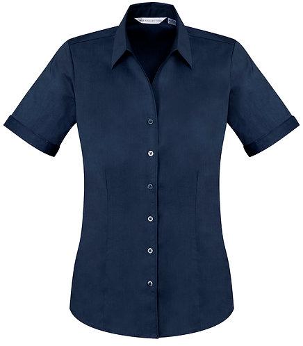 Womens Monaco SS Shirt - Navy