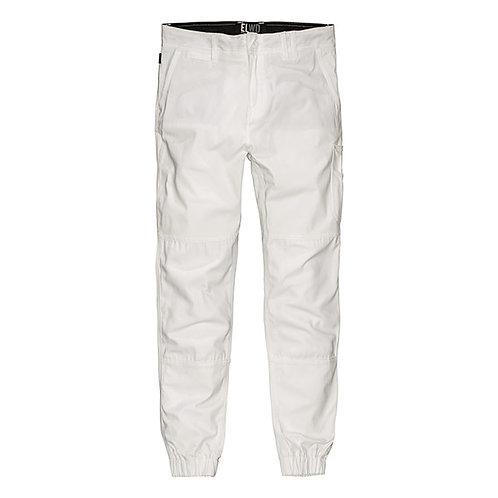ELWD Cuffed Pant - White