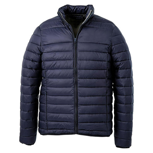The Weather Shield Puffer- Navy