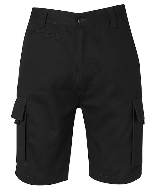JB's Mercerised Work Cargo Short - Black
