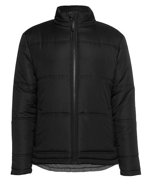 Ladies Explorer Puffer Jacket - Black