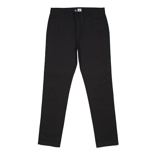 AS Colour Slim Chino Pant Black - Available from