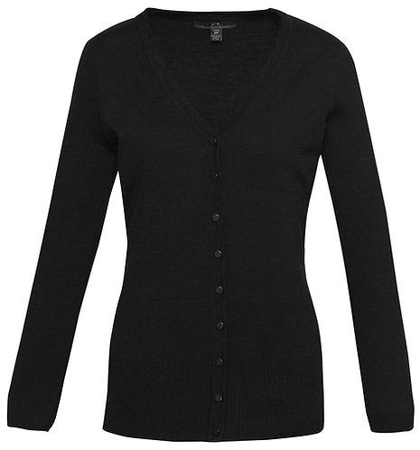 Womens Milano Longline Cardigan - Black