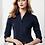Thumbnail: Ladies Metro 3/4 Sleeve Shirt - Navy