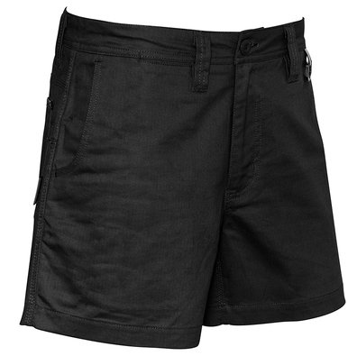 Syzmik Mens Rugged Cooling Short Short - Black