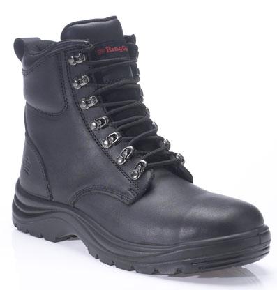 King Gee Cook Nubuck Boot - Black
