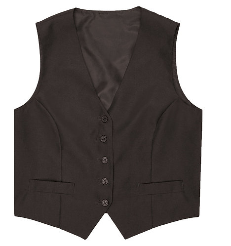 Womens Black Basic Vest
