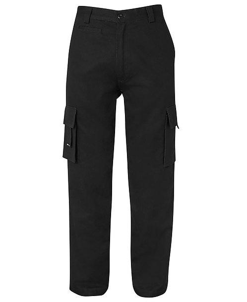 JB's Mercerised Multi Pocket Pant - Black
