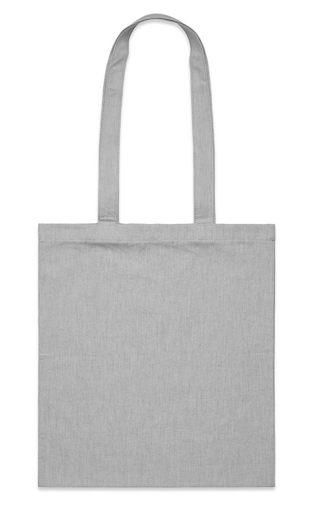 AS Colour Parcel Tote - Grey Marle MOQ 20