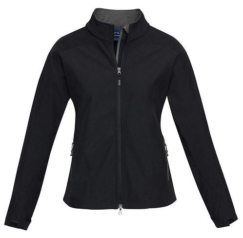 Ladies Geneva Jacket - Black Graphite
