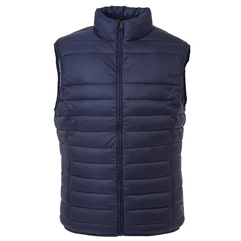 The Weather Shield Womens Puffer Vest - Navy