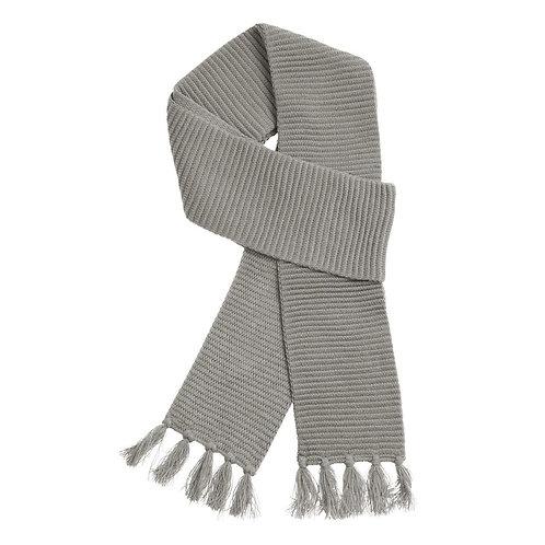 Ruga Knit Scarf Grey - MOQ 10