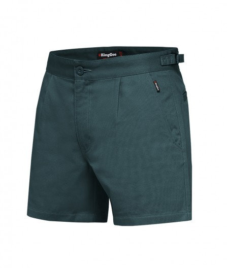 King Gee Drill Utility Short - Green