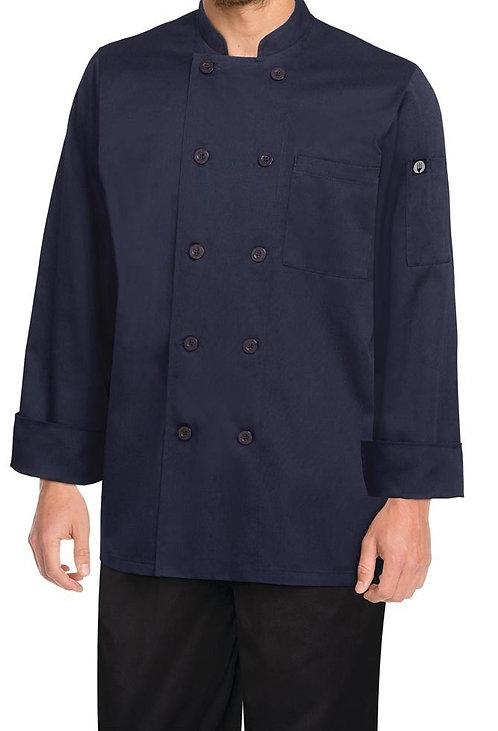 Navy Chef Jacket - MOQ 2
