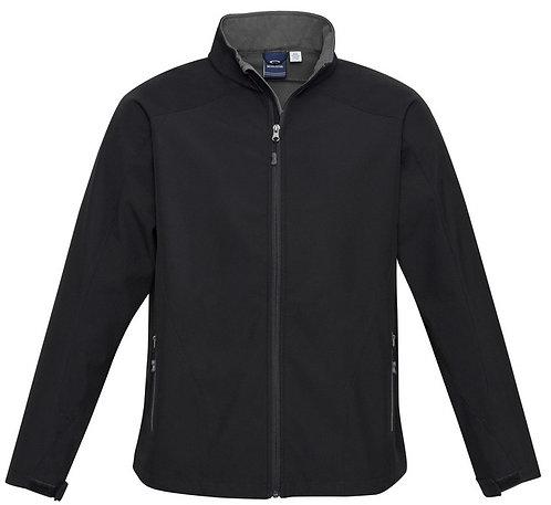 Mens Geneva Jacket - Black/Grey