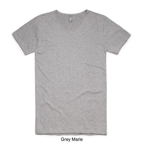 AS Colour Mens Long Shadow Tee - Available from