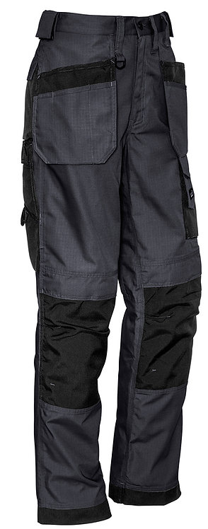 Syzmik Mens Ultralite Multi-Pocket Pant - Charcoal/Black