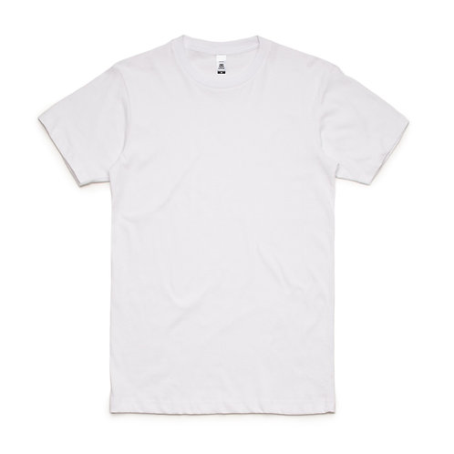 AS Colour Block Tee White - From