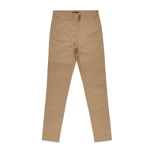 AS Colour Womens Standard Chino - Khaki