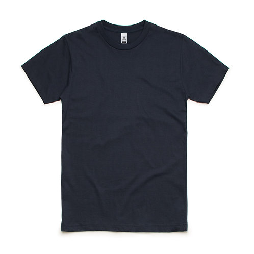 AS Colour Block Tee Navy - From