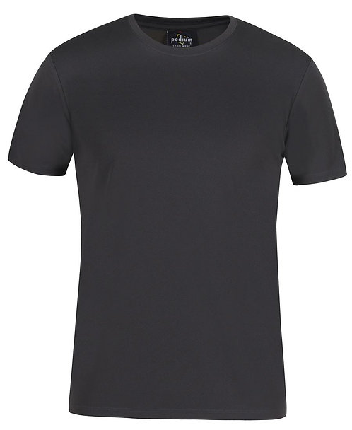 Fit Poly Tee- Gunmetal