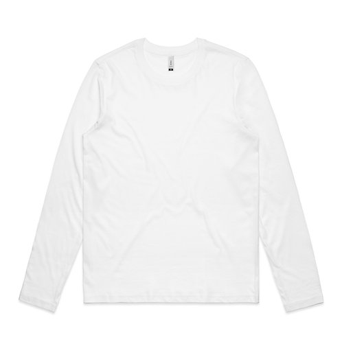 AS Colour LS Chelsea Tee White - Available From
