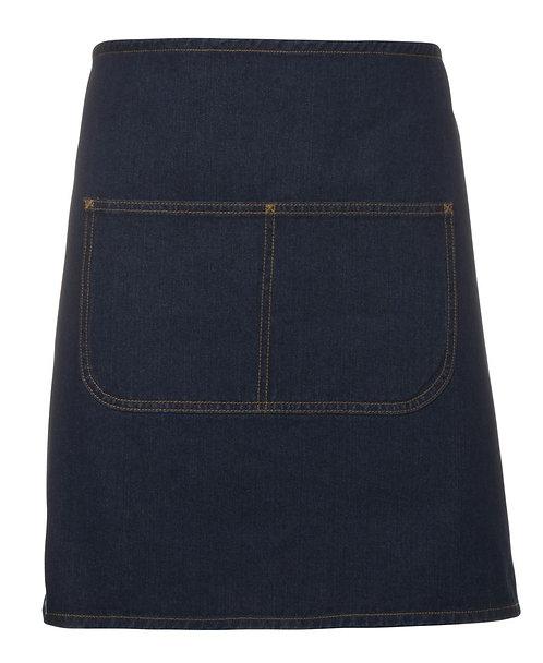 Blue Denim Waist Apron with Strap