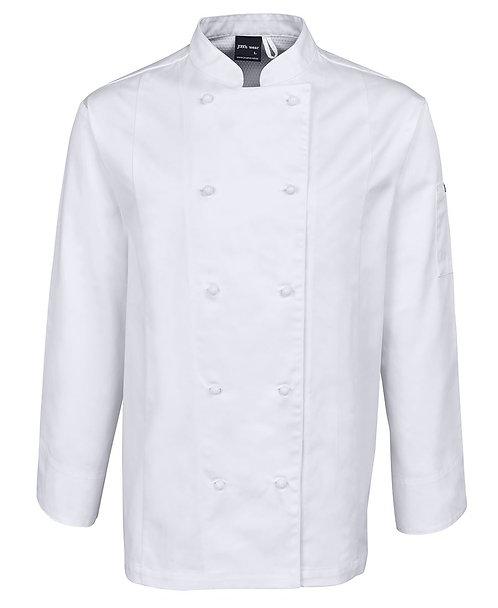 Unisex Vented LS Chef's Vest - White