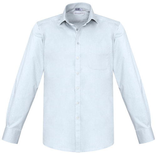Mens Monaco L/S Shirt - White