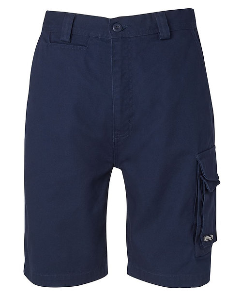 JB's Canvas Cargo Short - Navy