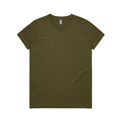 AS Colour Womens Maple Tee - Army