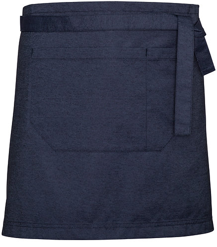 Blue Denim Easy Waist Apron with Changeable Straps