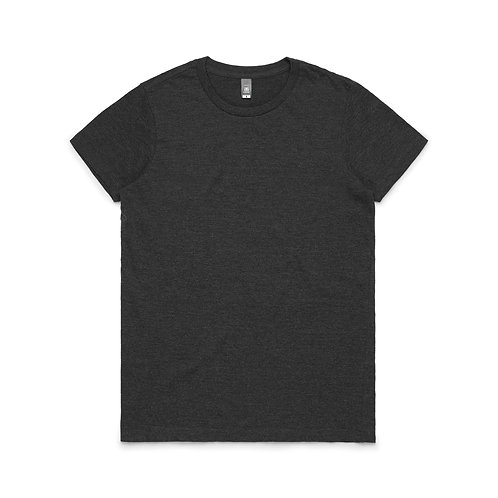 AS Colour Womens Maple Tee - Charcoal Marle