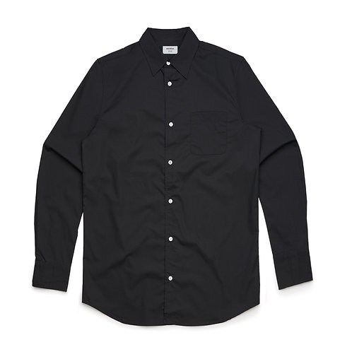 AS Colour Poplin Shirt Black - Available from