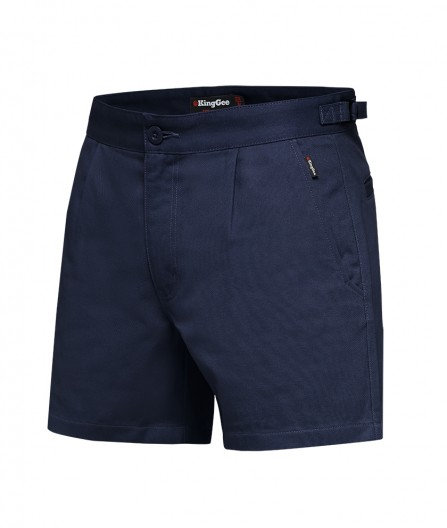 King Gee Drill Utility Short - Navy