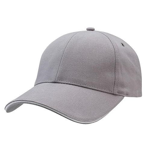 Sandwich Peak Cap Grey/White -  Pack of 10