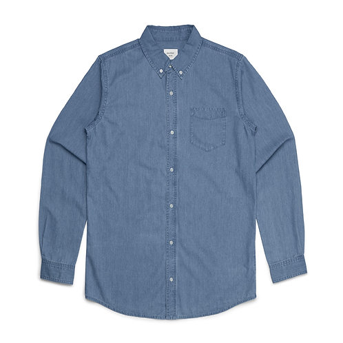 AS Colour Mens Chambray Shirt - From