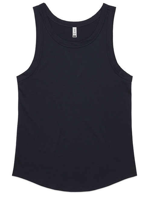 AS Colour Sunday Singlet - Navy