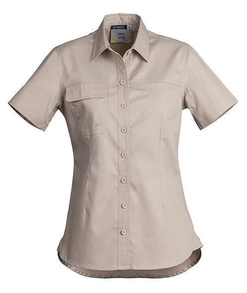 Womens Lightweight Work Shirt - Short Sleeve