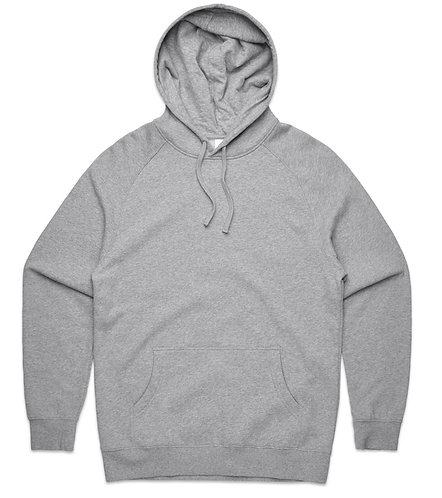 AS Colour Mens Supply Hood Grey Marle- Available From