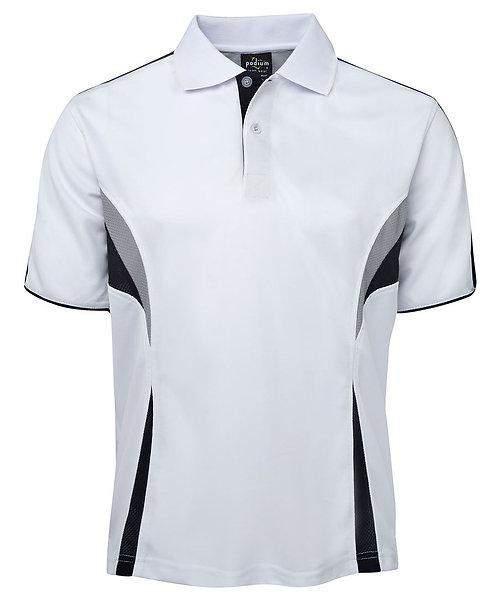 Podium Cool Polo - White