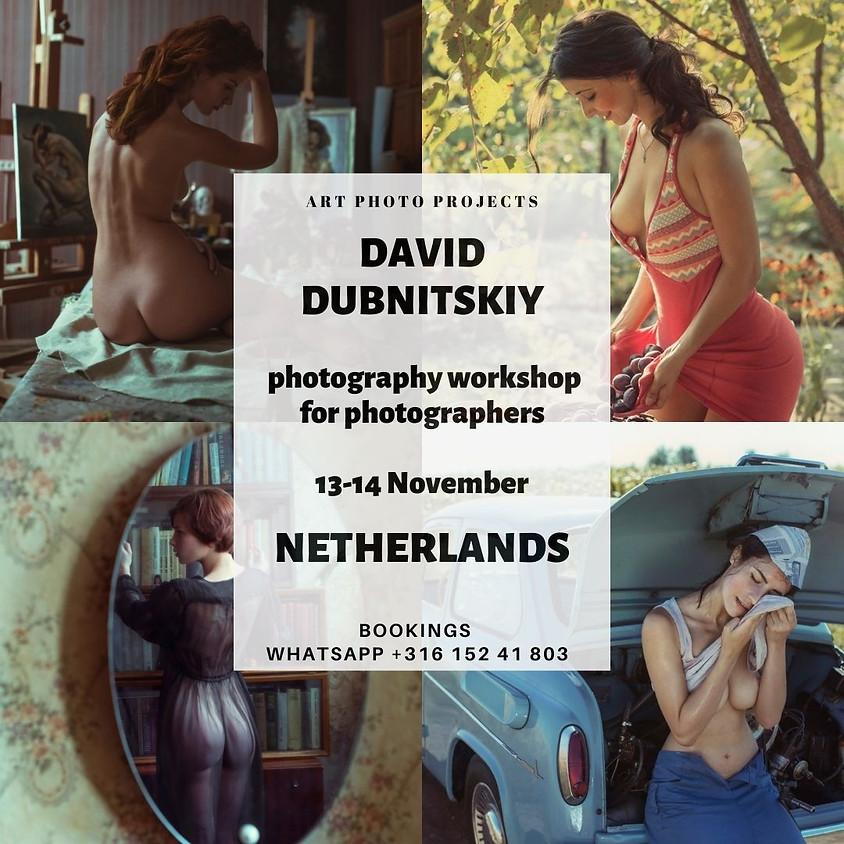 David Dubnitskiy photography workshop in Netherlands (artnude)